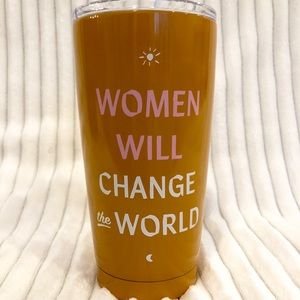 Anthropologie Women Will Change World Travel Mug